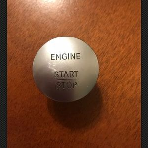 Mercedes Benz push to start button